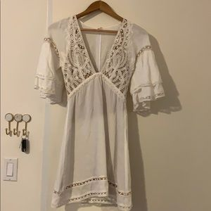 For Loves and Lemons White Dress